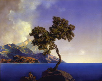 Aquamarine (1917) Artist: Maxfield Parrish