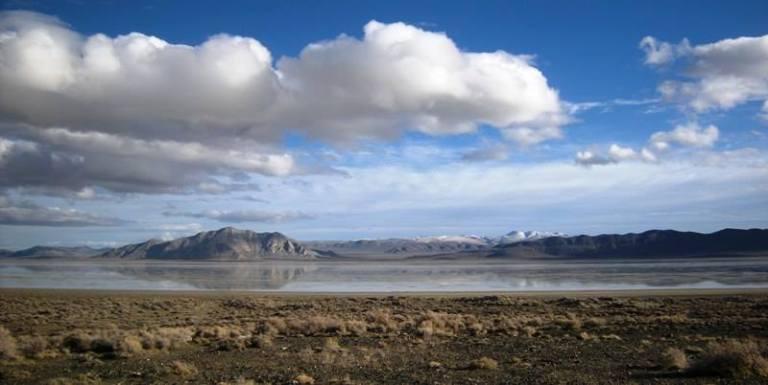 Black Rock Desert, Nevada. Photo: Michael Sykes